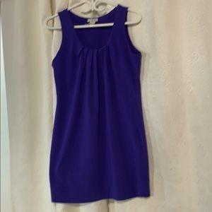 Alfred Sung purple sleeveless dress